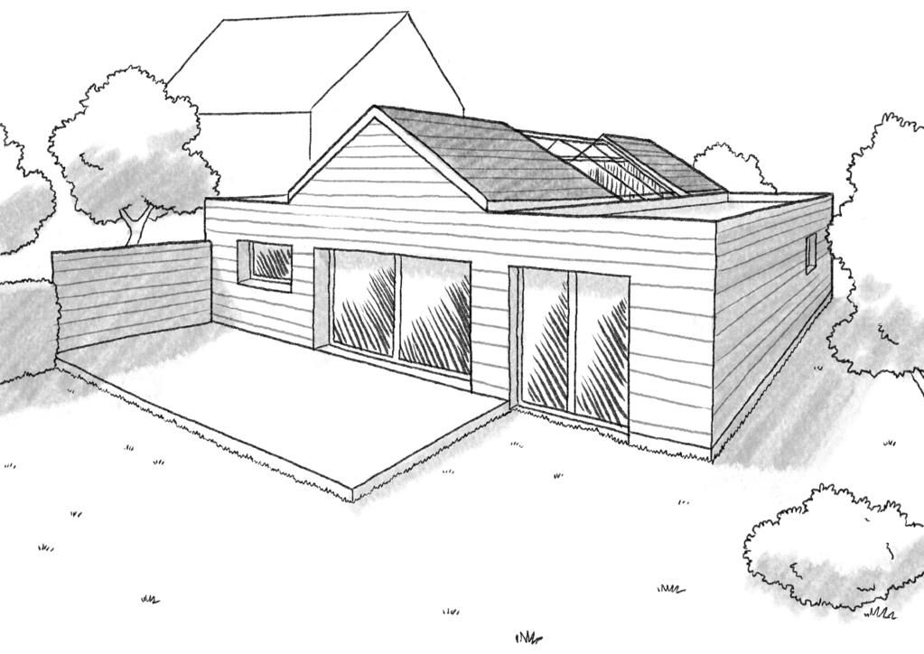 Plan Maison Cubique De Plain-Pied - Ooreka