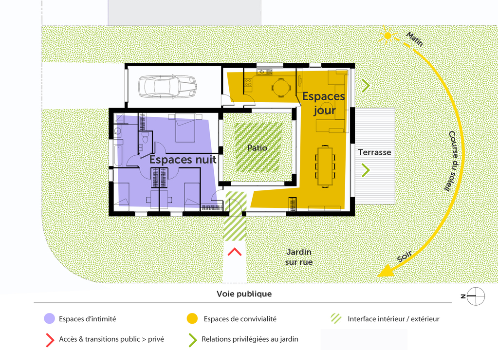 Plan Maison De PlainPied Avec Patio  Ooreka