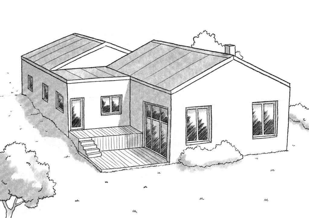 plan maison à demi-niveau - ooreka - Plan Maison Demi Niveau 4 Chambres