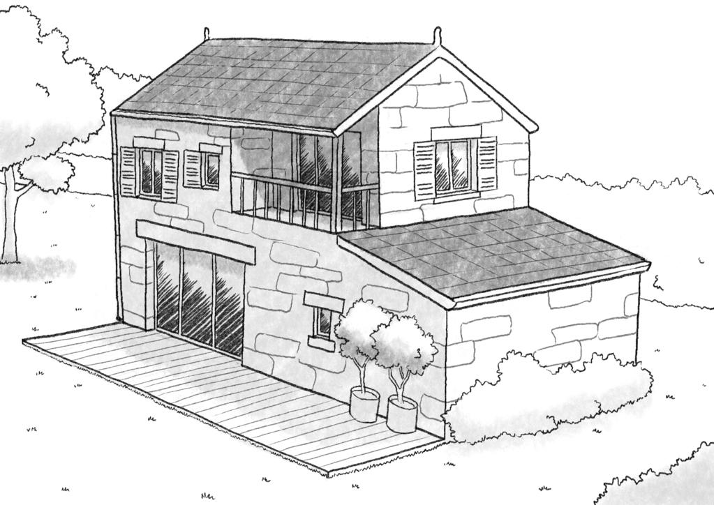 plan maison 90 m avec balcon ooreka. Black Bedroom Furniture Sets. Home Design Ideas