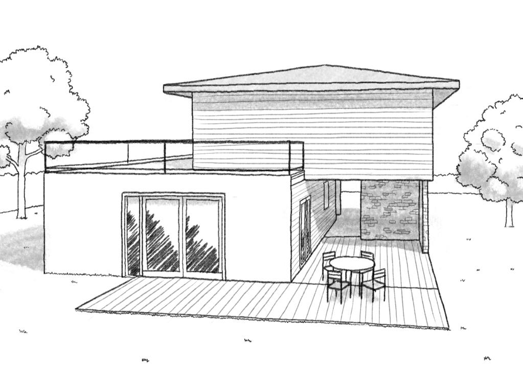Plan maison 130 m terrasse ooreka - Maison avec balcon terrasse ...
