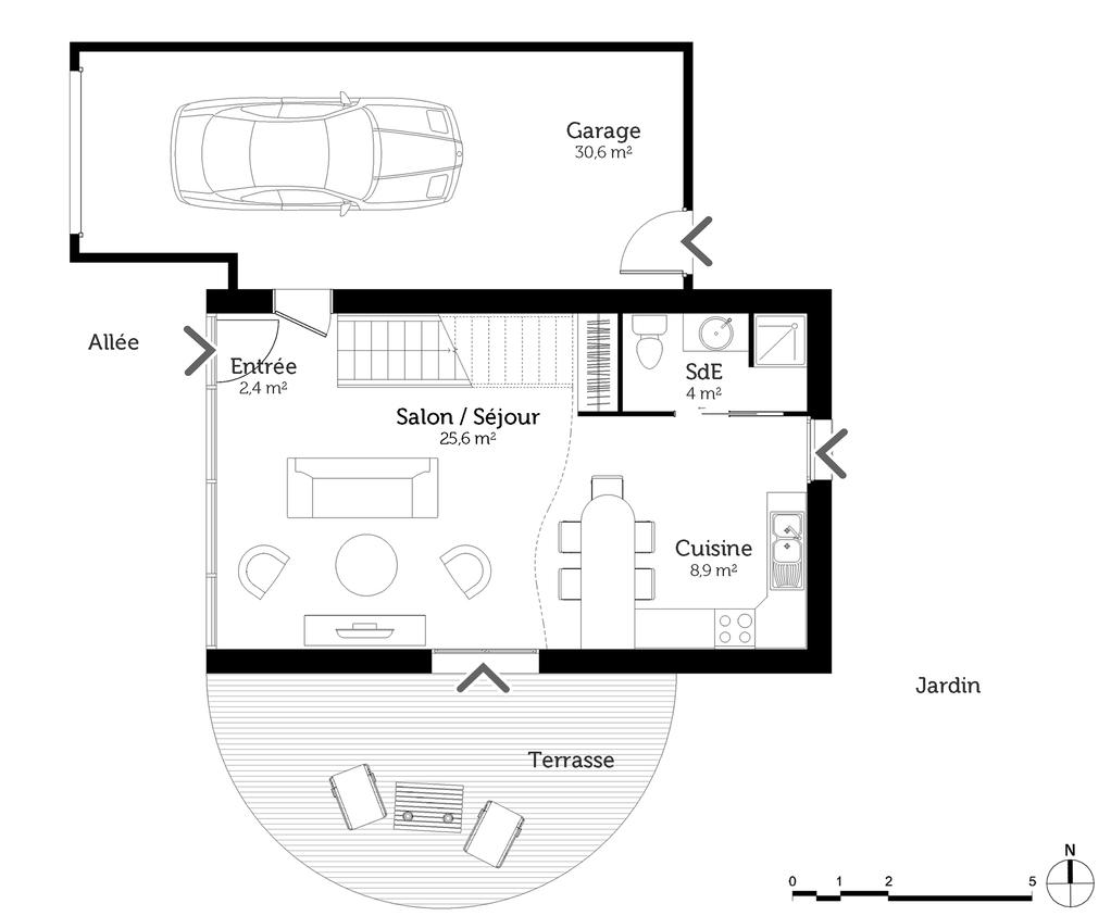 Plan Maison 50 M Avec Mezzanine Ooreka 4