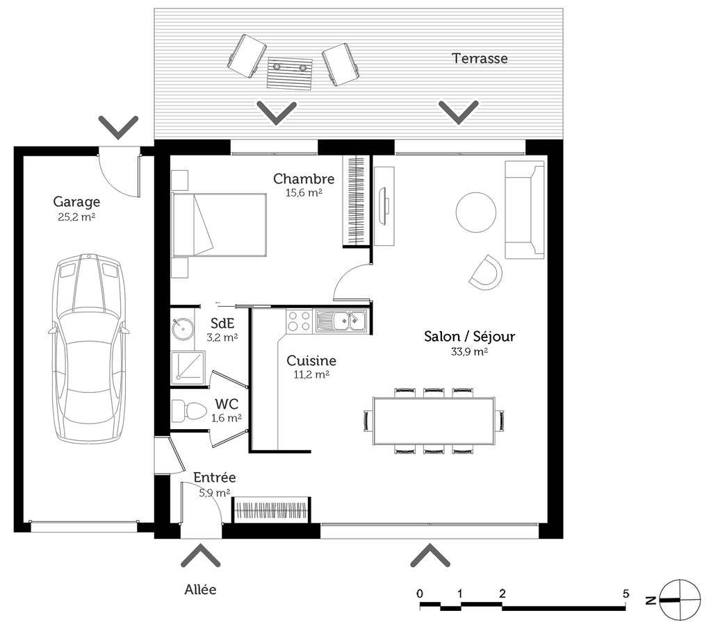 Attractive Construction Maison   Ooreka