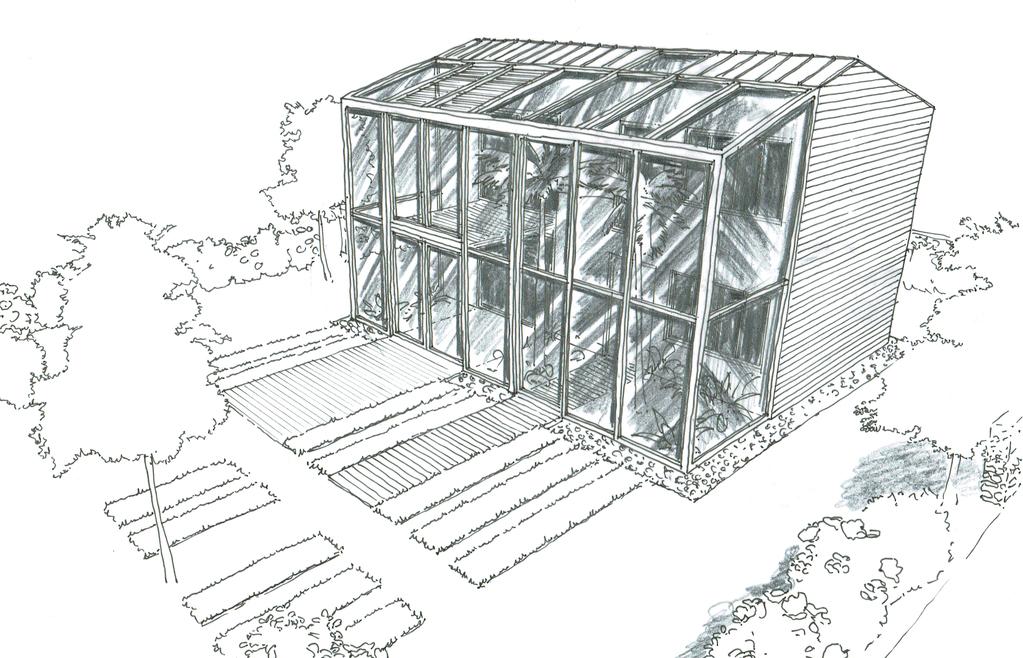 Plan maison avec serre ooreka - Plan d une serre de jardin en bois ...