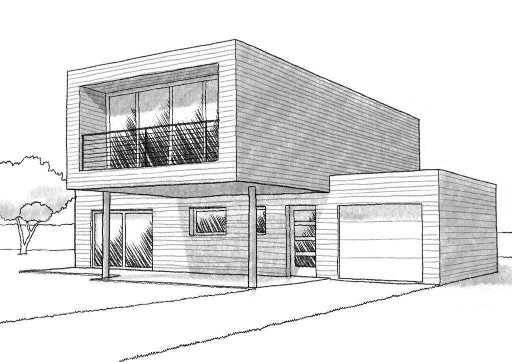 Plan maison 120 m ossature en bois ooreka for Dessin maison 3d