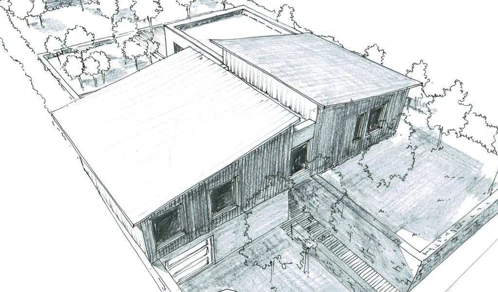 plan maison en l avec sous sol ooreka. Black Bedroom Furniture Sets. Home Design Ideas