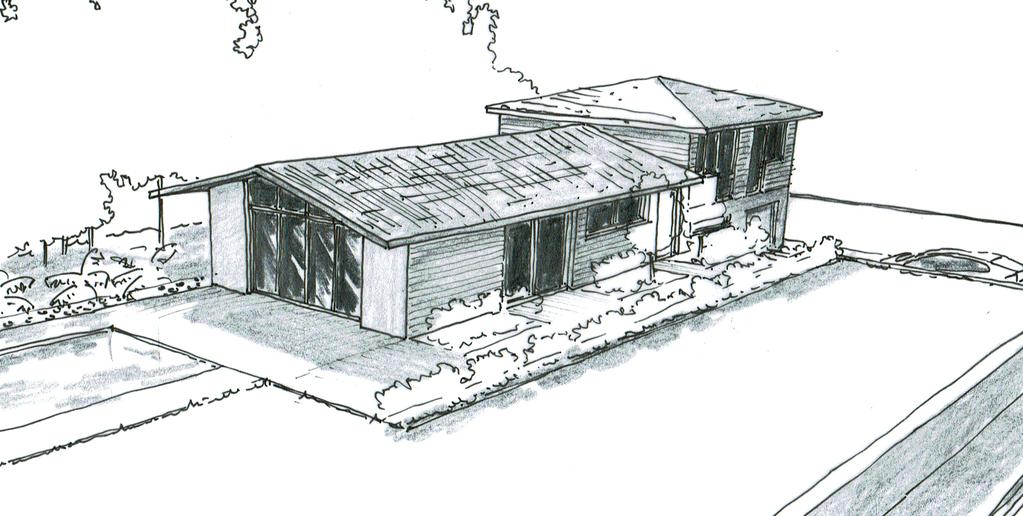 plan de maison en v avec sous sol