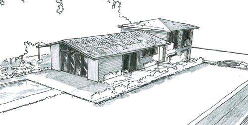 Plan maison tage sur terrain en pente ooreka for Plan maison avec combles