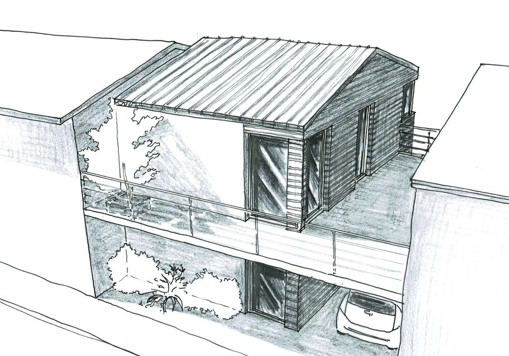 Souvent Plan maison de ville avec balcon - Ooreka TR95