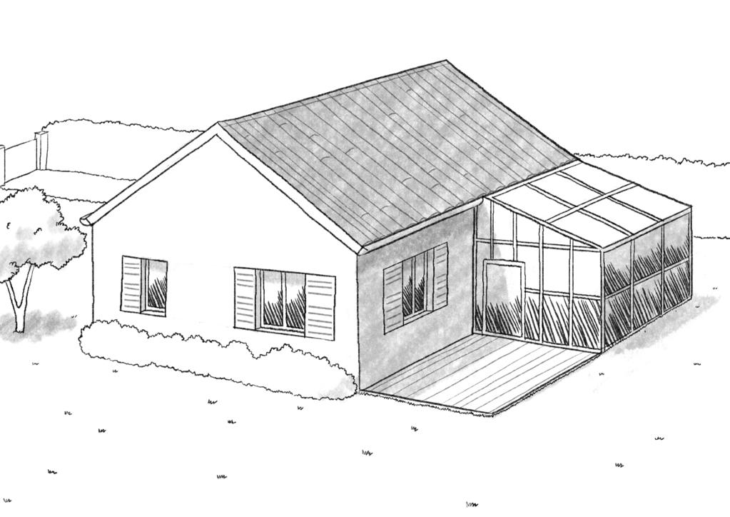 plan de veranda a faire soi meme vranda bois en ides pratiques damnagement et dcoration with. Black Bedroom Furniture Sets. Home Design Ideas