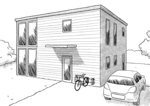 Maison moderne avec garage toit plat creer son plan de - Creer plan de maison ...