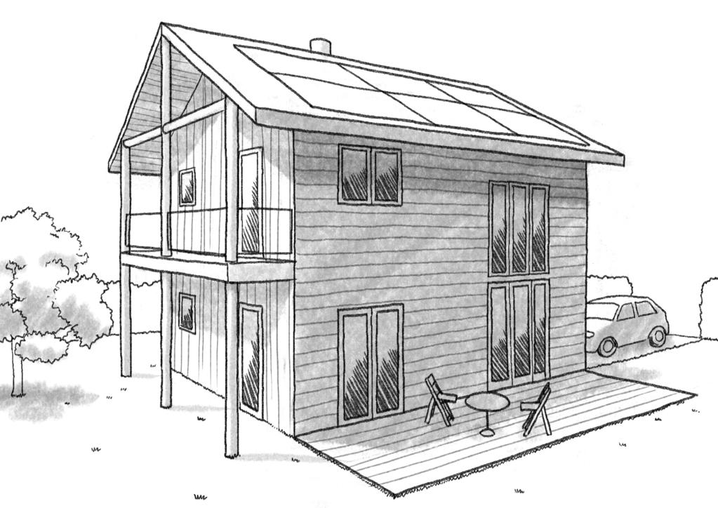 Assez Plan maison écologique 60 m² - Ooreka DL19