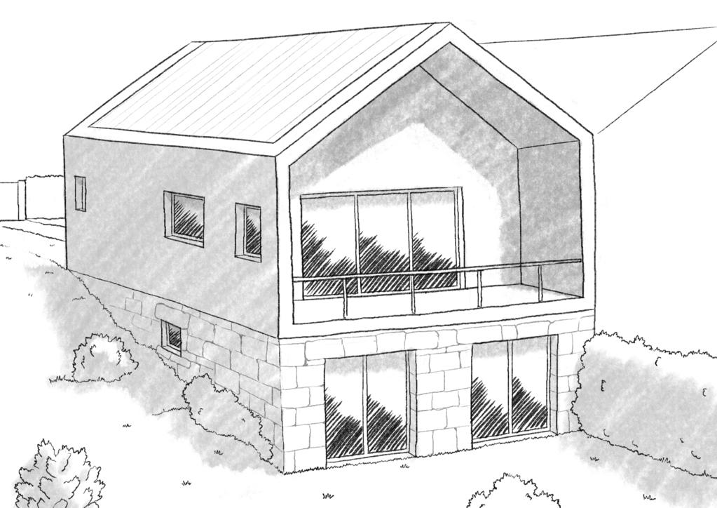 Plan maison 80 m avec terrasse ooreka for Plans de maison de ville