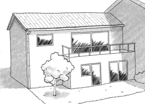 Plan maison tage et toit plat ooreka for Plan maison avec combles