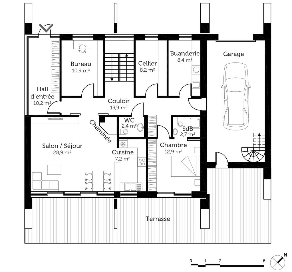 Plan D Architecte Maison