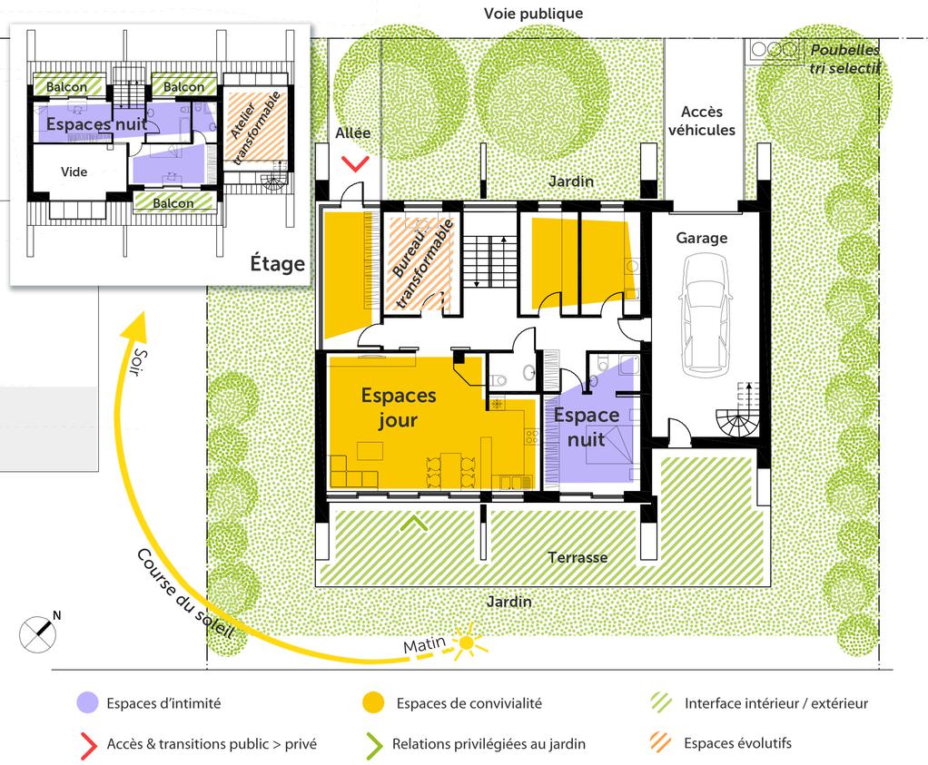 Plan De Maison Contemporaine Toit Plat Infos Et Ressources 7