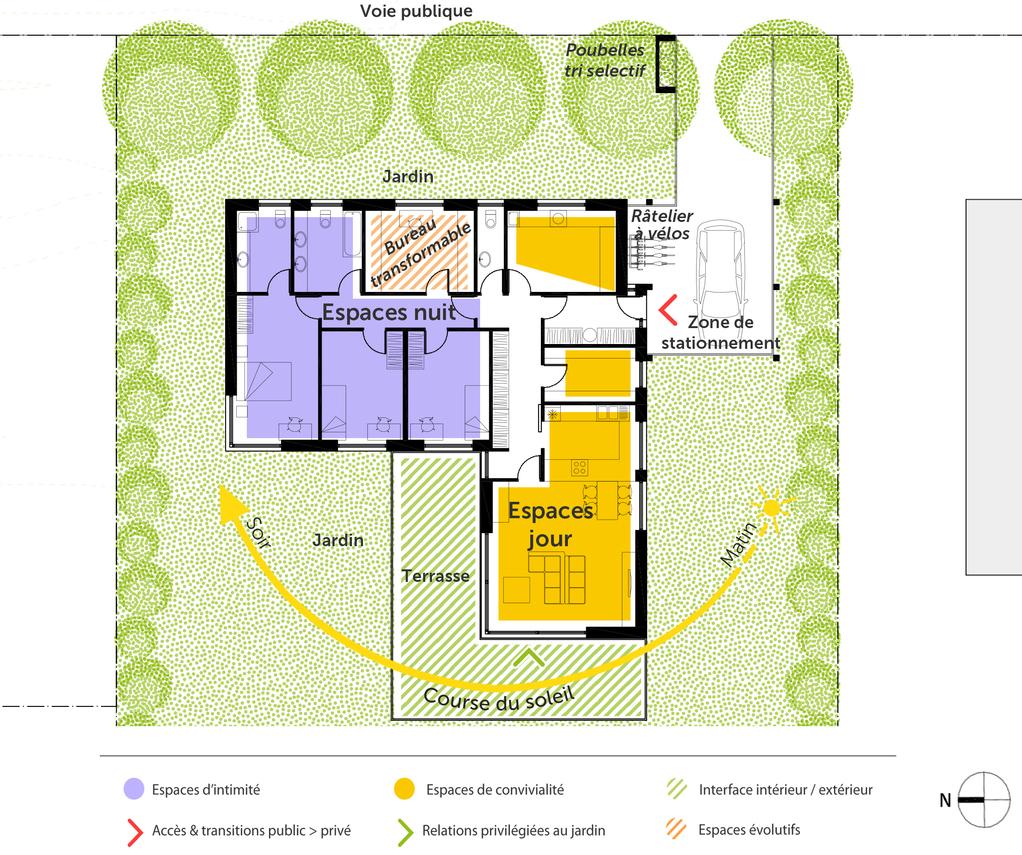 Plan maison individuelle bbc ooreka for Plans de maison de famille