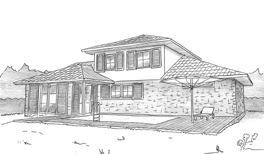 Plan maison traditionnelle 130 m ooreka for Plan maison creole traditionnelle