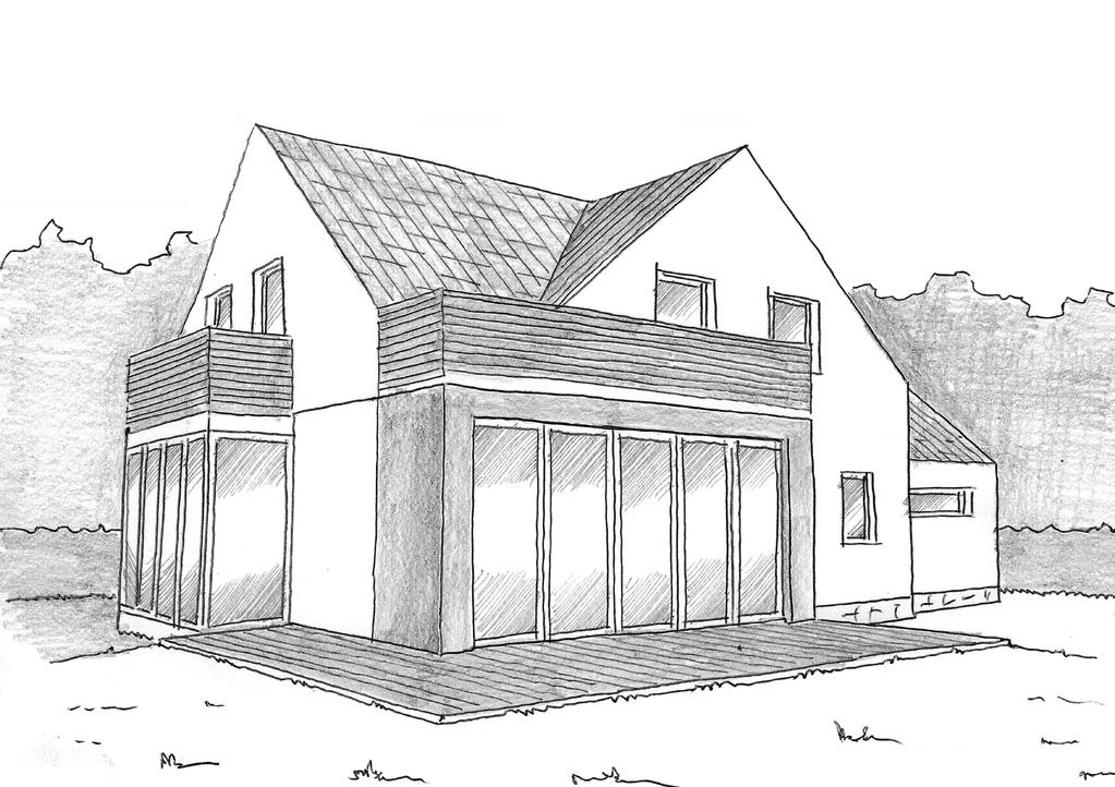 Plan maison contemporaine 140 m² - Ooreka