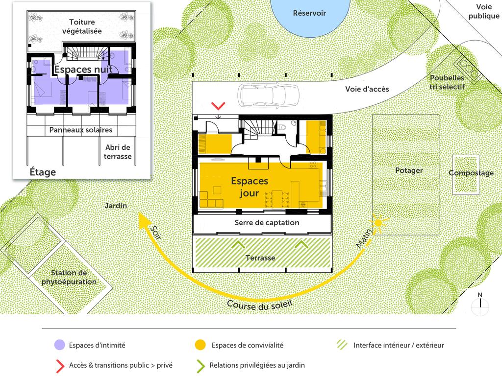 Plan Maison Bioclimatique De Plain Pied Ooreka 6