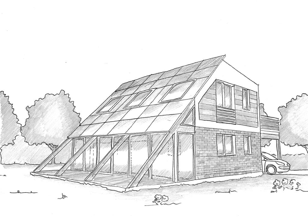Plan Maison  tage Bioclimatique  Ooreka