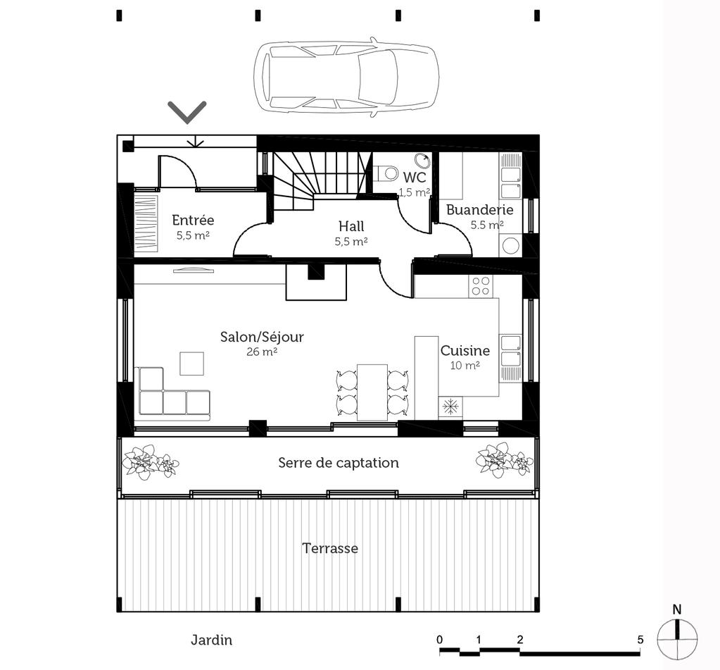 Construction Maison Plan Avec Terrasse Maison