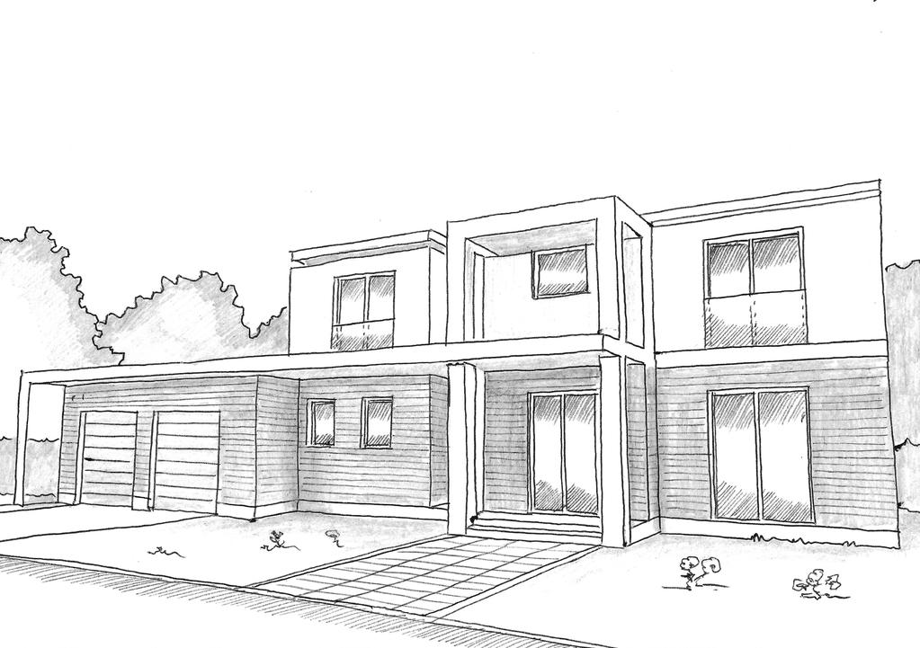 Charmant Esquisse 3D Plan De Maison De Prestige