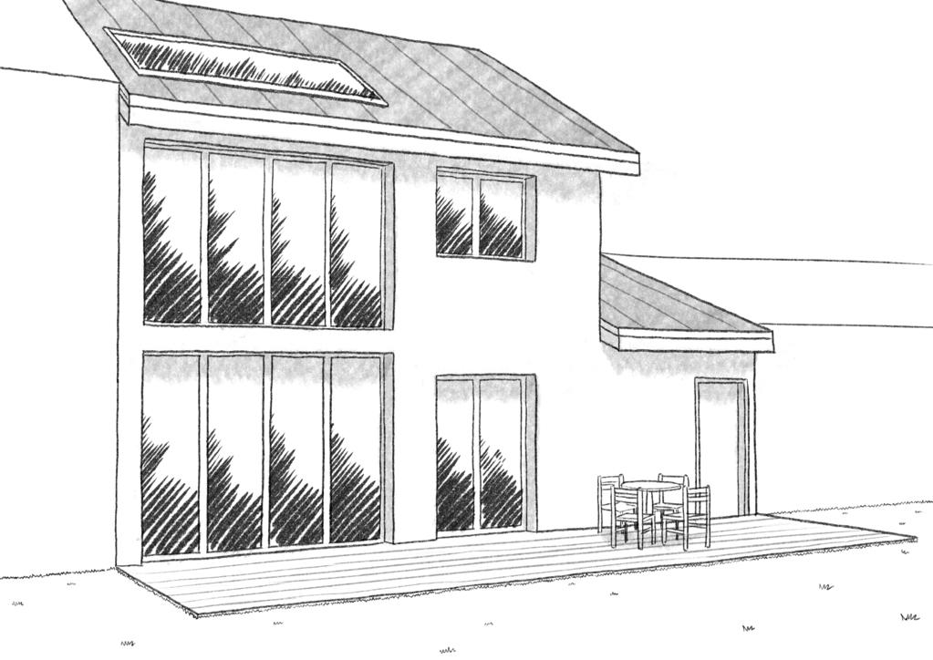 plan maison avec 2 chambres et garage ooreka. Black Bedroom Furniture Sets. Home Design Ideas