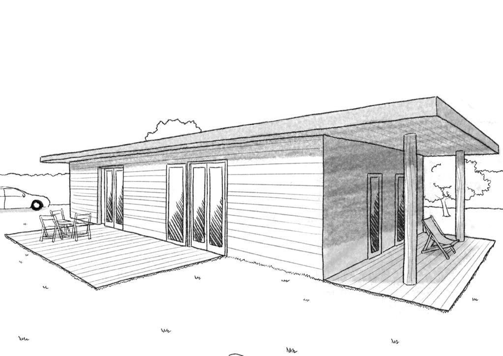 Plan Maison Moderne A Toit Plat De Plain Pied Ooreka