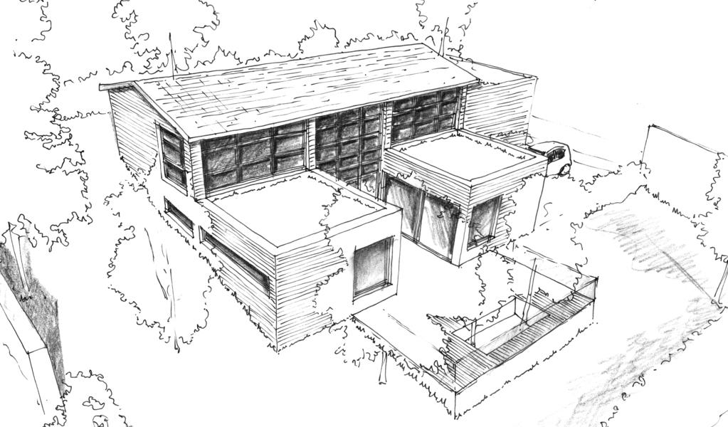Plan Maison En U  M  Ooreka