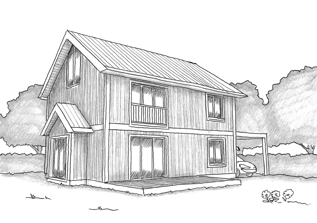 Plan maison simple ooreka for Construction maison simple