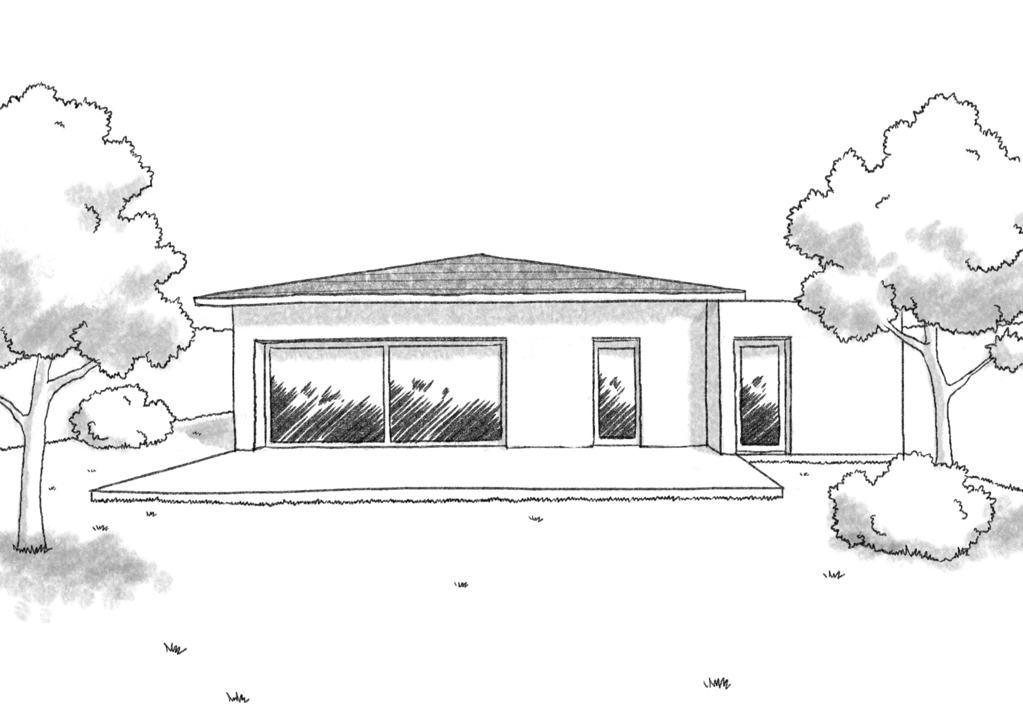 plan de maison 3 pièces