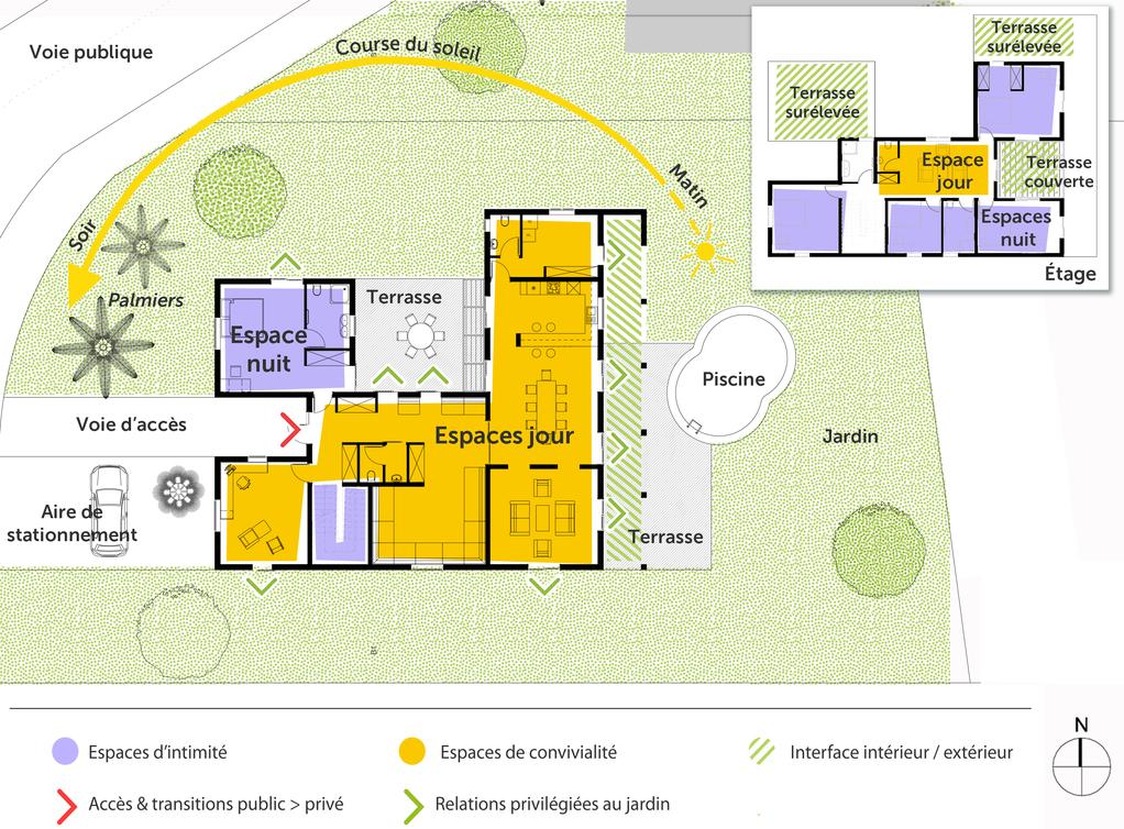 plan de construction maison r+2 maroc