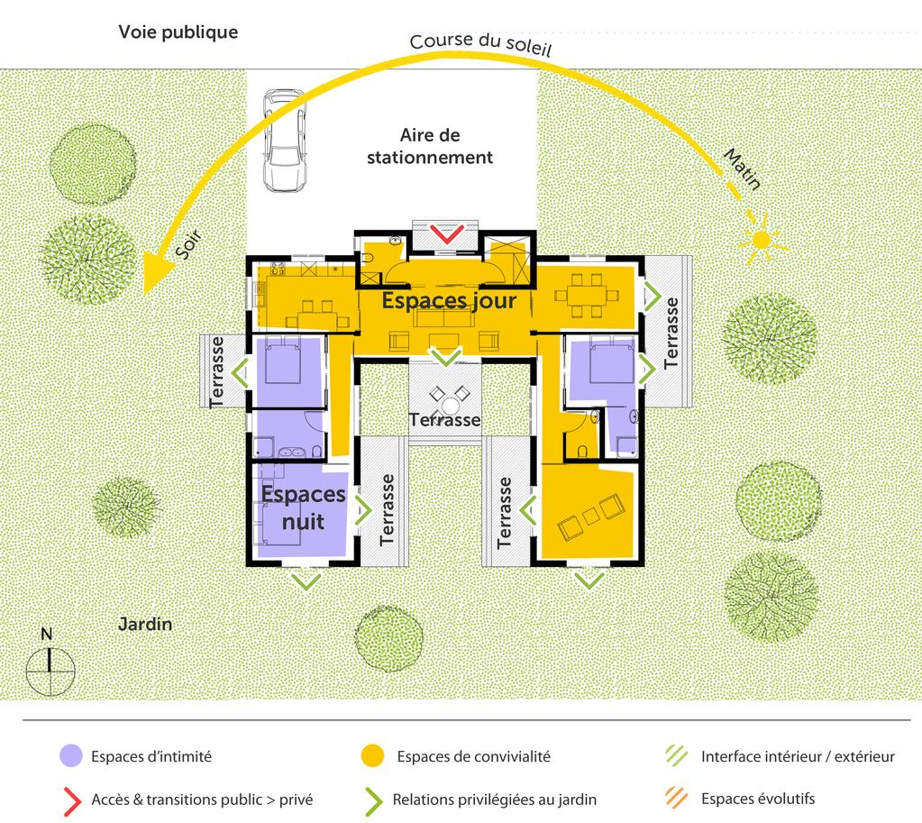 plan maison japonaise