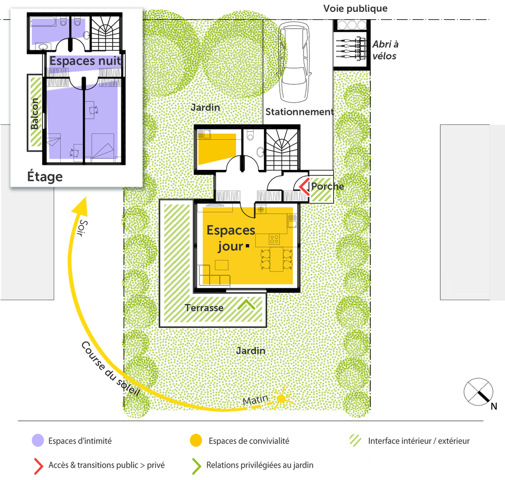 Plan maison container 90 m² - Ooreka