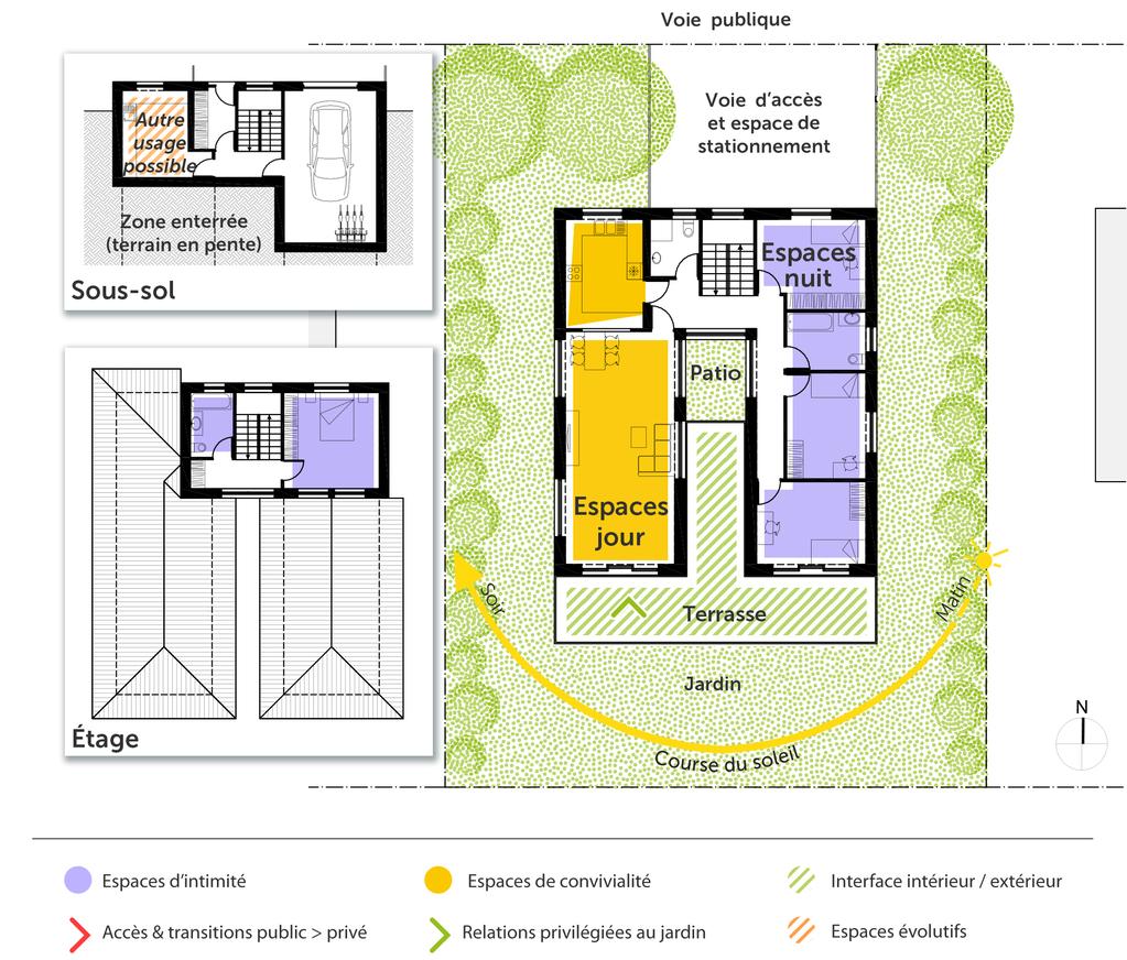 Plan Maison Traditionnelle Japonaise plan maison traditionnelle en u - ooreka