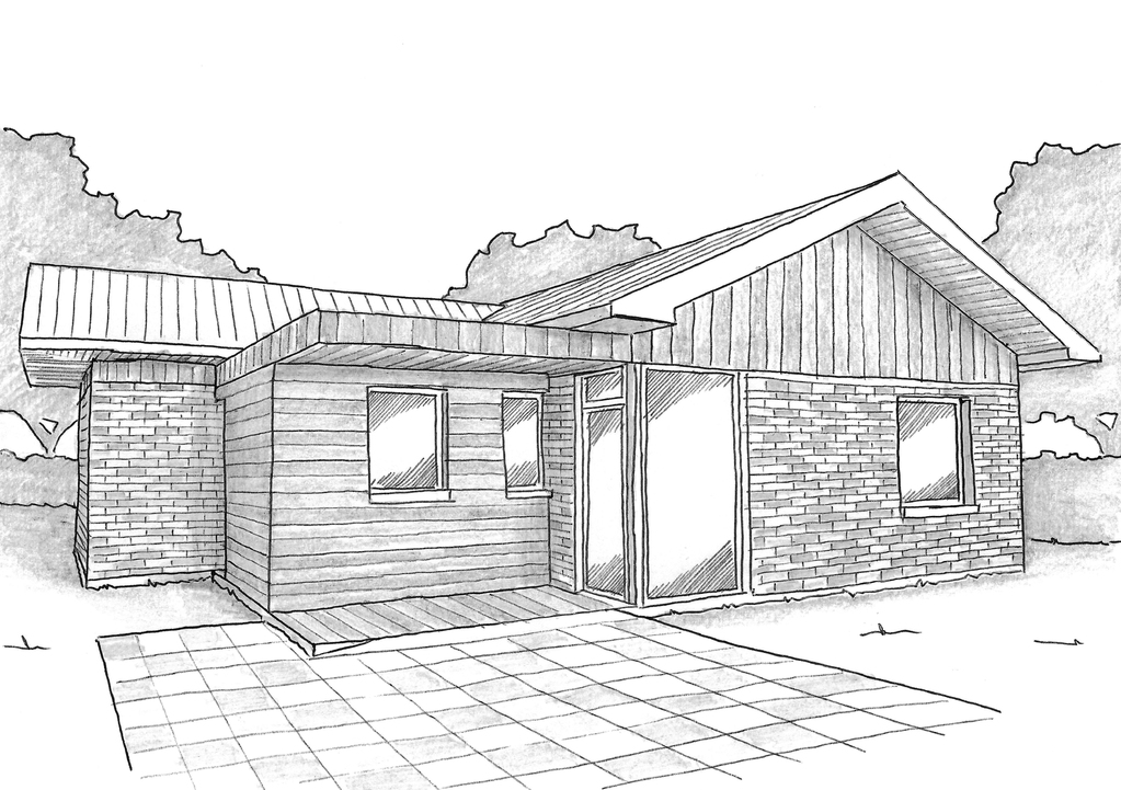 plan maison 80 m avec bureau ooreka. Black Bedroom Furniture Sets. Home Design Ideas