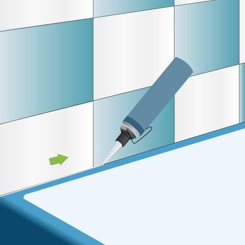 Remplacer un joint de silicone