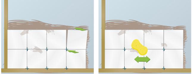 poser du carrelage mural carrelage. Black Bedroom Furniture Sets. Home Design Ideas