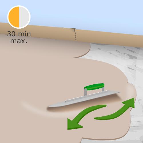 Ragréer un sol en ciment