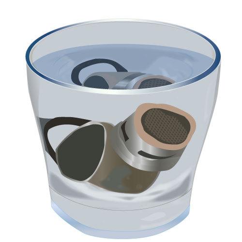 Détartrer un mousseur de robinet