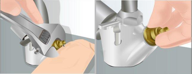 réparer les joints d'un robinet qui fuit - plomberie - Changer Un Joint De Robinet Qui Fuit