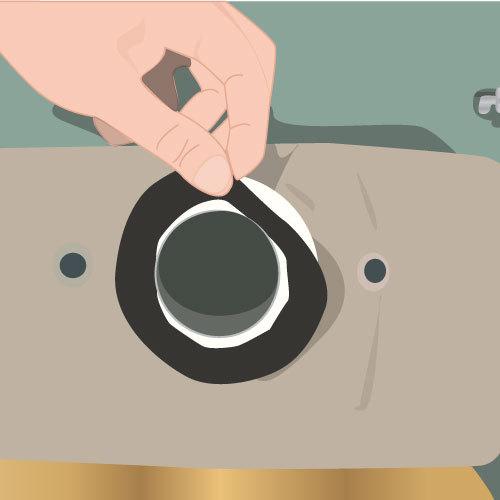Réparer les fuites à l'extérieur du réservoir des toilettes