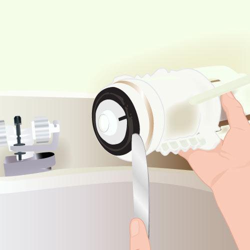 Réparer Les Fuites à Lintérieur Du Réservoir Des Toilettes