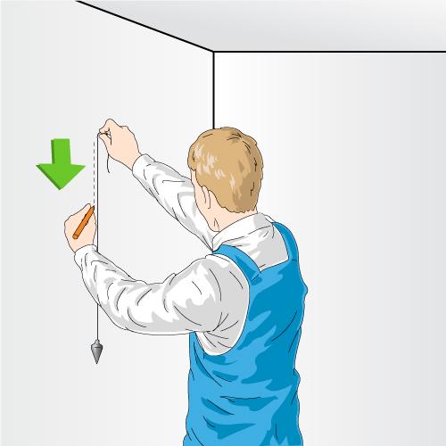 2. Effectuez Des Mesures Et Tracez Des Repères Sur Les Murs