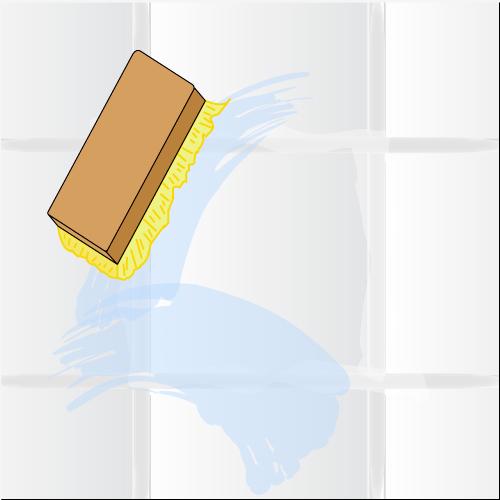 Peindre les joints de carrelage carrelage - Comment nettoyer les joints de faience de salle de bain ...