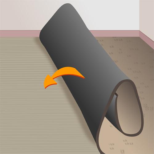 poser de la moquette coll e ooreka. Black Bedroom Furniture Sets. Home Design Ideas