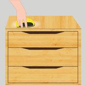 poncer un meuble ponceuse. Black Bedroom Furniture Sets. Home Design Ideas