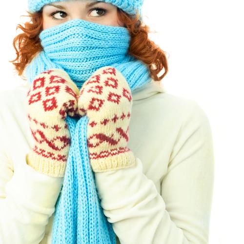 Éviter de prendre froid en prévention de l'angine