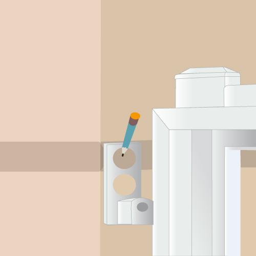 Installer un portail battant (scellement chimique)